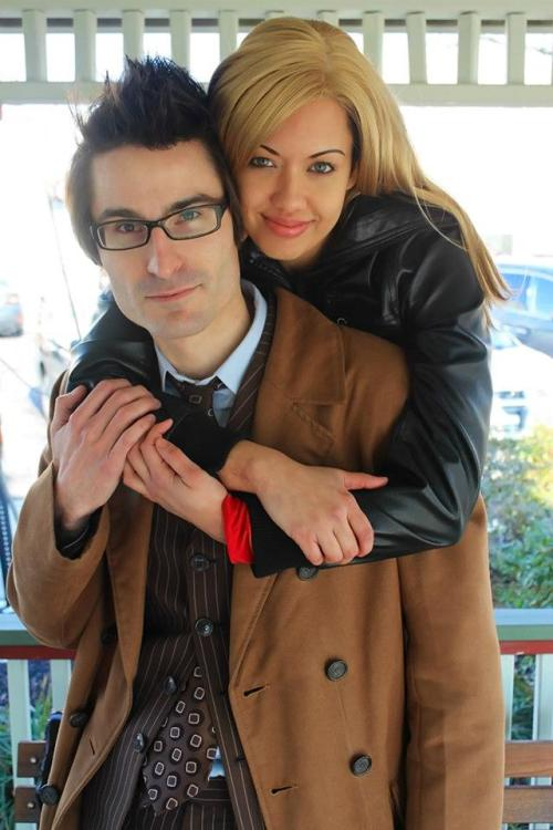 The Doctor and Rose Tyler by Victoria Cosplay and Brian A. Terranova