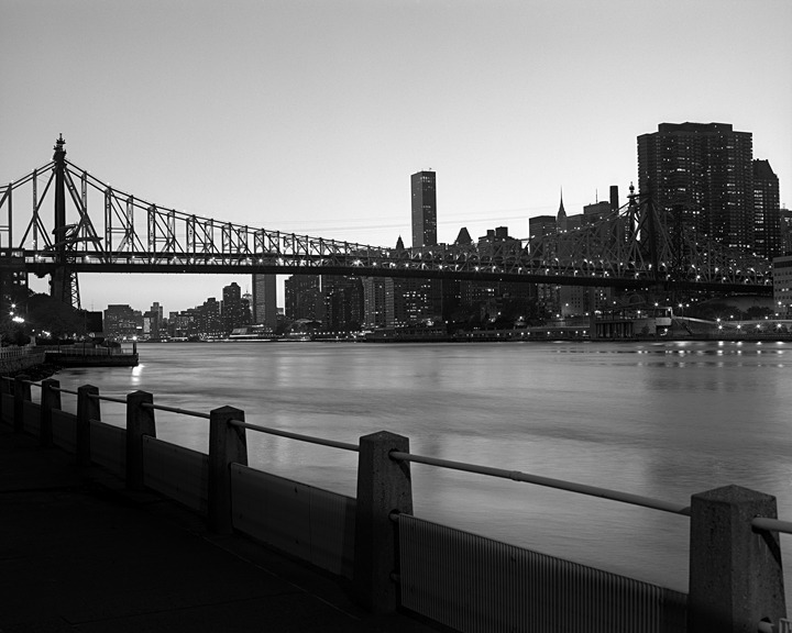 queensboro bridge, 2011. part of a new photo series, No Stars.