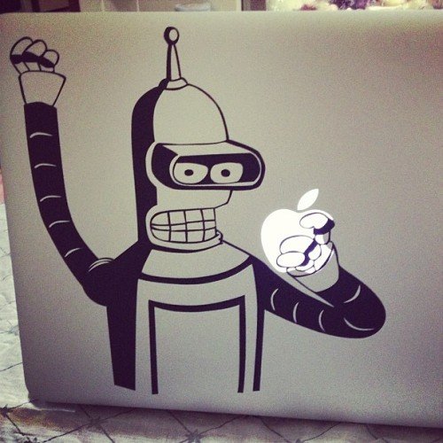 New decal yeah! #bender