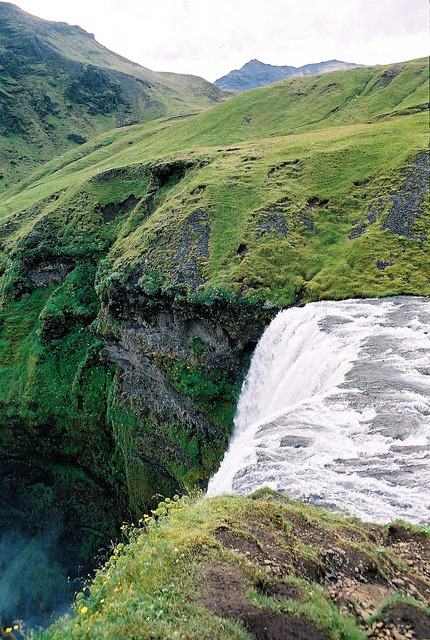 10bullets:  Skógafoss (2) by Matrok on Flickr.