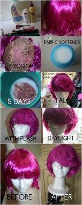 ceryskitty:  fujoshilandya:  Removing the shine to your wig —-> ENTER HERE http://fav.me/d5um4ou on We Heart It - http://weheartit.com/entry/54606779/via/LienYing88  What is this witchcraft good lord