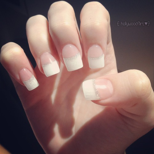 hollywoodflirt:  Nails done for prom. :*