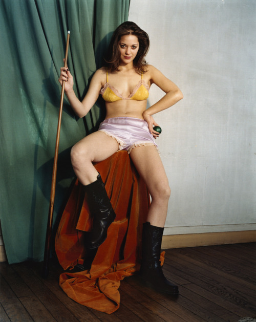suicideblonde:  Marion Cotillard photographed by Bettina Rheims