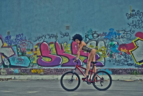 UKRAINE. FASHION CYCLING