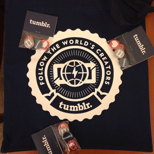 Tumblr swag from @Tumblr #tumblr #swag  (at Disney ABC Television Group)