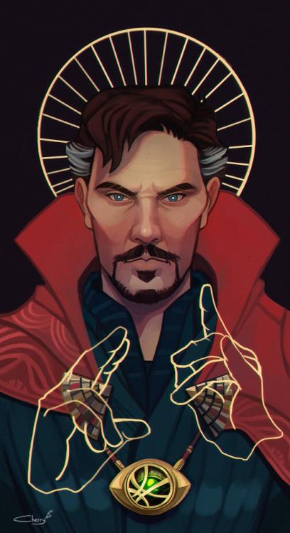doctor strange stephen strange avengers mcu my art marvel