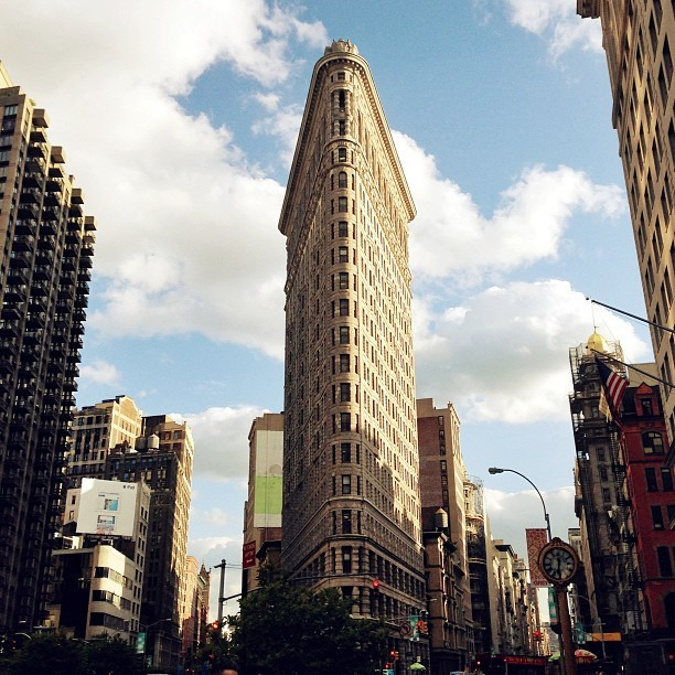 Flatiron building on Monday
