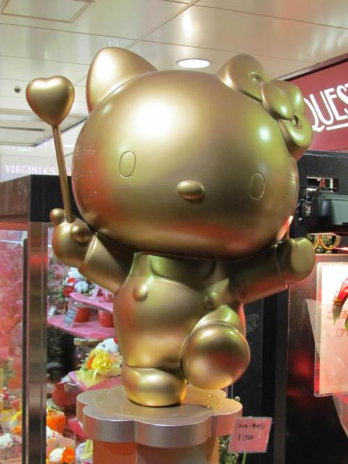 kathykaa:  My brother took this picture of Hello Kitty in JAPAN (: