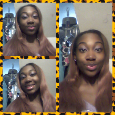 Me looking beautiful…makeup done by me and I think I did a great job