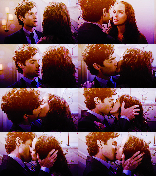 THE SHIPS MEME | five best kisses - 3/5:  dan&blair (GOSSIP GIRL)