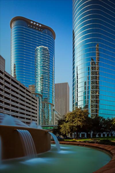 #houston, #texas, #usa, #landscape, #cityscape, #architecture, #tx, #blue