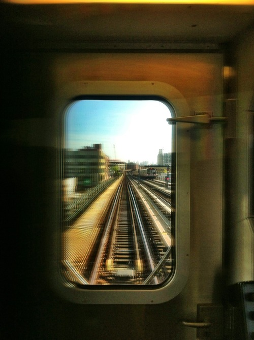 Why do I love Queens? Among the many reasons are our elevated trains. To emerge from the tunnels of Manhattan into a deluge of sunshine is the best Welcome Home greeting after a long day at work.