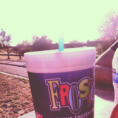 siriuslymagic:  That ain't no frosty, but we hella chill. (at Woodward Park)