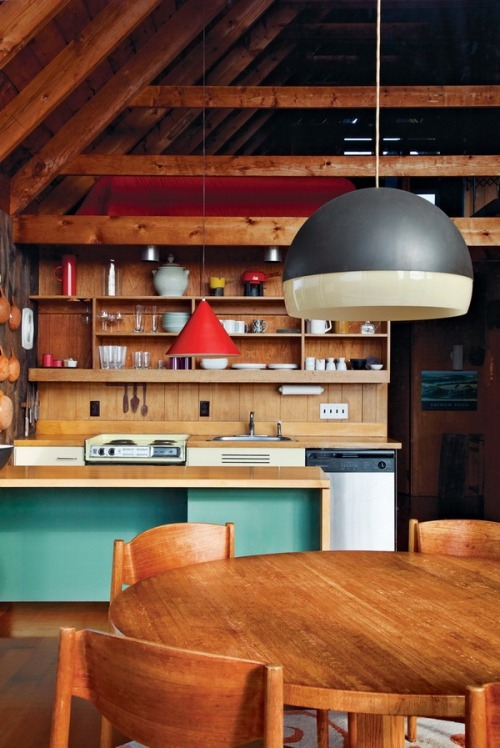 smallspacesblog:   Dwell   Dear future husband, I want our kitchen to look just like this okay?