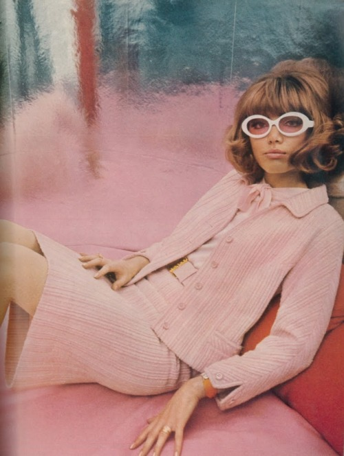 60sfashionandbeauty:  British Vogue, February 1966. Photographed by Eugene Vernier. (♥)