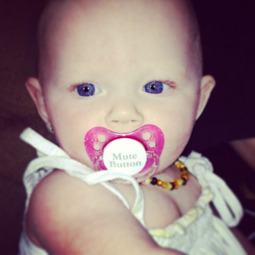 #harlow #babygirl #blueeyes #beautiful #mygirl #mutebutton