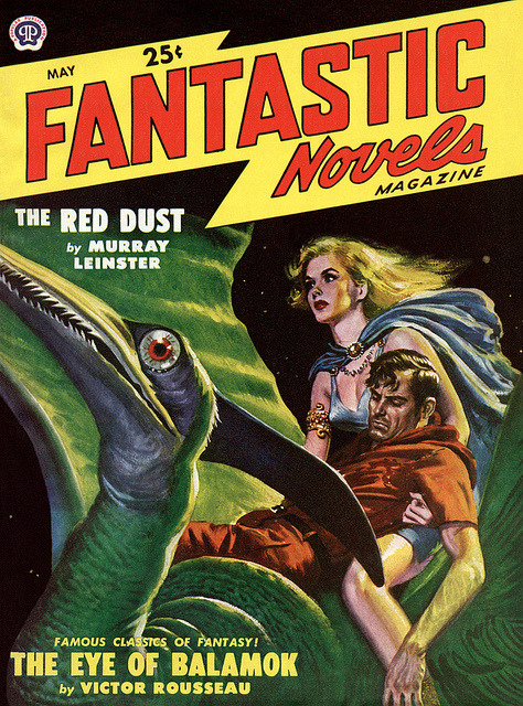 moschops911:  Fantastic Novels 1949-05 by McClaverty on Flickr.