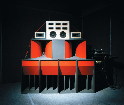 Mark Leckey, Sound System, 2002