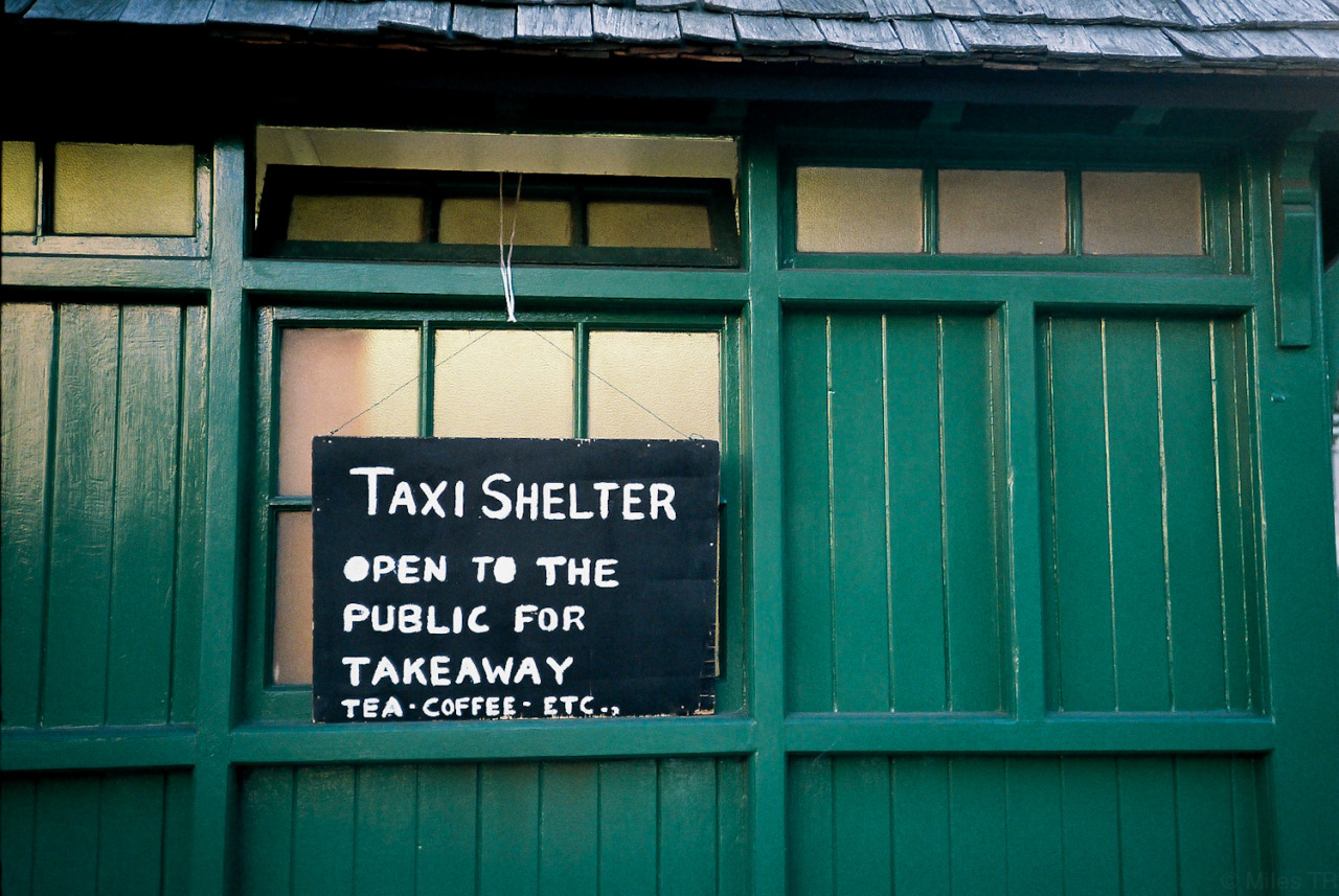 deontile:  lol taxi shelter sounds cool