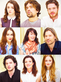 'Game Of Thrones Season 3' Press Conference