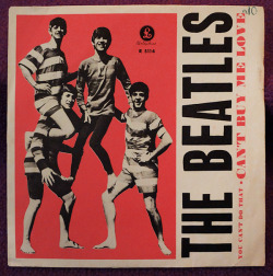 "The Beatles ""Can't Buy Me Love"" / ""You Can't Do That"" Single - Parlophone Records, Sweden (1964)."