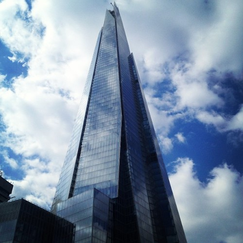 The Shard. Straight Tolkien.