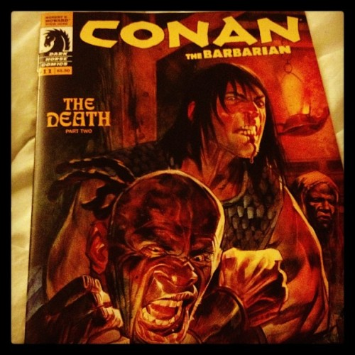 Something to usher in dreamtime #conan #comics #rearnakedchoke