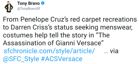 lmdctour - The Assassination of Gianni Versace:  American Crime Story - Page 14 Tumblr_p2nnwyISvB1wpi2k2o1_540
