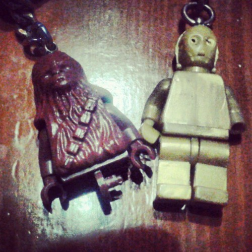 Key chains #starwars #chewbaca #chewie #c3po
