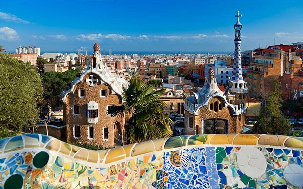 Barcelona,Spain. Very popular with tourists this bright, colourful, cultured city is home to the most superb structural design around, with plenty of it to see. See apartments in Barcelona at… http://www.alphaholidaylettings.com/Spain_holiday_rentals/Costa_Brava_Catalonia/Barcelona
