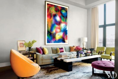 (via Jamie Drake's New York City Apartment : Architectural Digest)