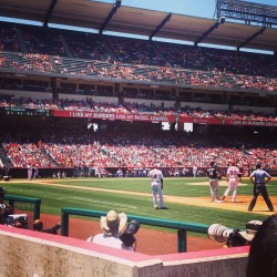 Angels game!  (at Angel Stadium of Anaheim)