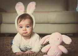 hannasiregar:  #cute #babies #pink #doll #rabbit