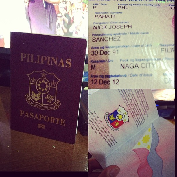 MAAGANG BIRTHDAY GIFT! MY PASSPORT JUST ARRIVED! YEY!