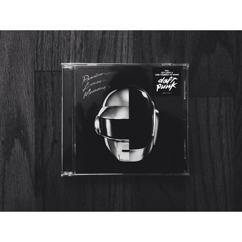 reason #1 to fix the jammed CD in my car 😐 #daftpunk #randomaccesmemories #ram