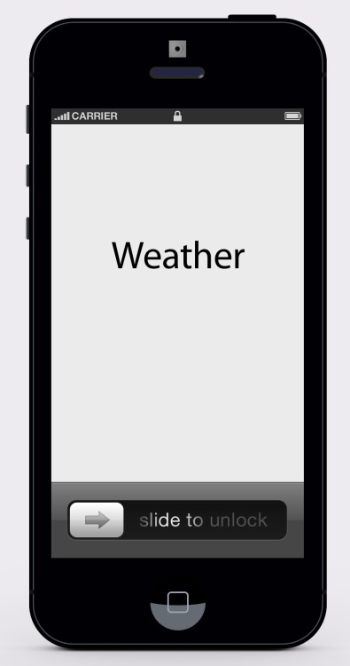 My New Minimalist iOS Weather App  Coming soon to the App Store.  Only $3.99.
