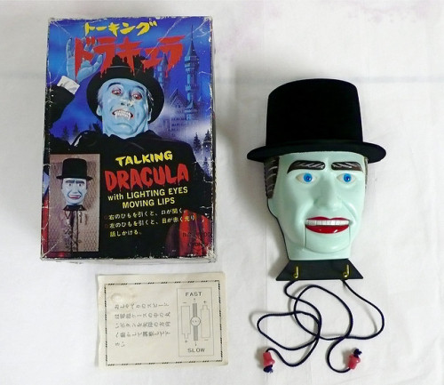 Strange Talking Dracula toy (1970s)