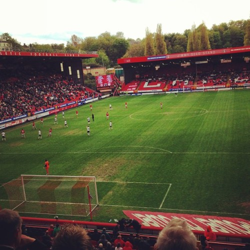 Gonna miss this place over the Summer. #cafc #thevalley