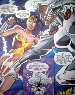 unitedheroines:  Top 10 Dream Versus: Wonder Woman (DC Comics) Vs. Storm (Marvel Comics)  Follow Us: http://unitedheroines.tumblr.com/
