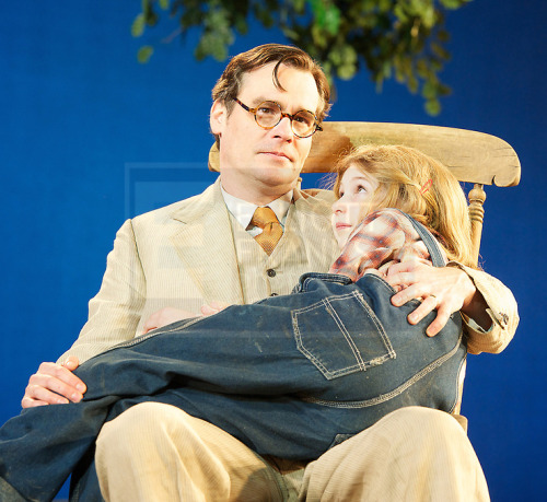 discofunction:  Robert Sean Leonard and Eleanor Worthington-Cox in To Kill A Mockingbird at Regent's Park Open Air Theatre! I was there! Saw this with my own eyes-front row! It was AMAZING!!!!!!!!!