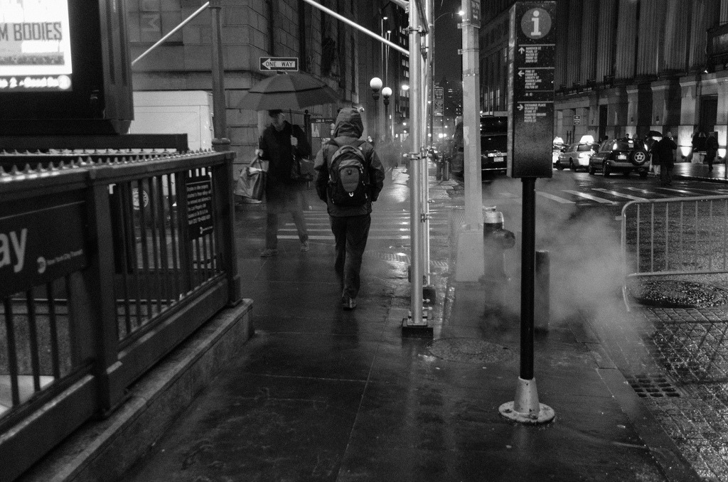 Mist  Financial District, Manhattan