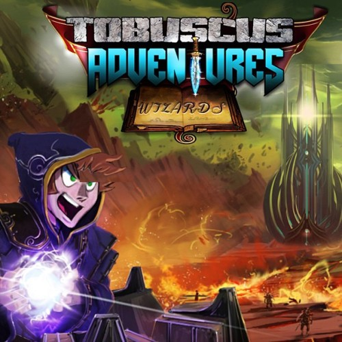 love the Tobuscus Adventures art. This is probably the intro screen :)