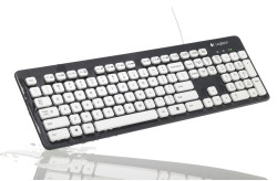 K310 Washable Keyboard Maker: Logitech Materials: Various Materials $39.00 USD [note: pretty awesome if you snack often at the computer]