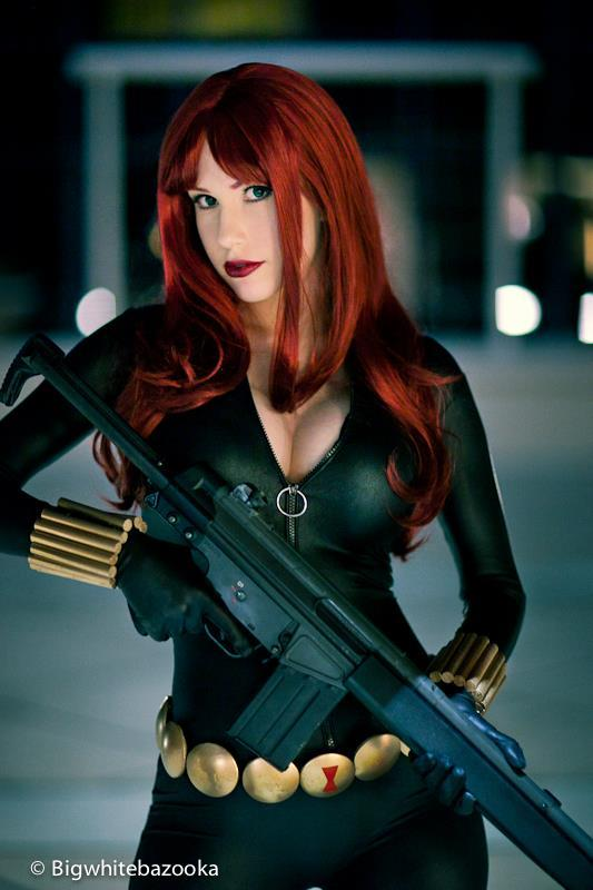 Precious Cosplay Black Widow http://cosplay-paradise.tumblr.com