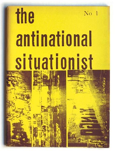 fuckyeahanarchopunk:  THE ANTINATIONAL SITUATIONIST. No 1. [Seul paru] Editors : Tom Krojer Olsen & Jens Jorgen Thorsen Enna. Copenhagen, Editions Bauhaus Situationniste, [1974]