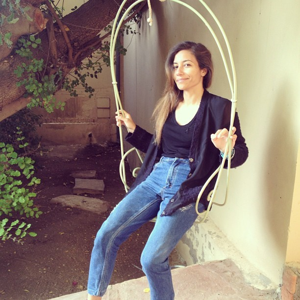 My mom jeans, my man hates it, but i'm loving it #denim #mom #ootd #marrakech
