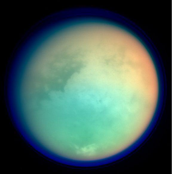 A focus on Titan. Titan (or Saturn VI) is the largest moon of Saturn. It is the only natural satellit