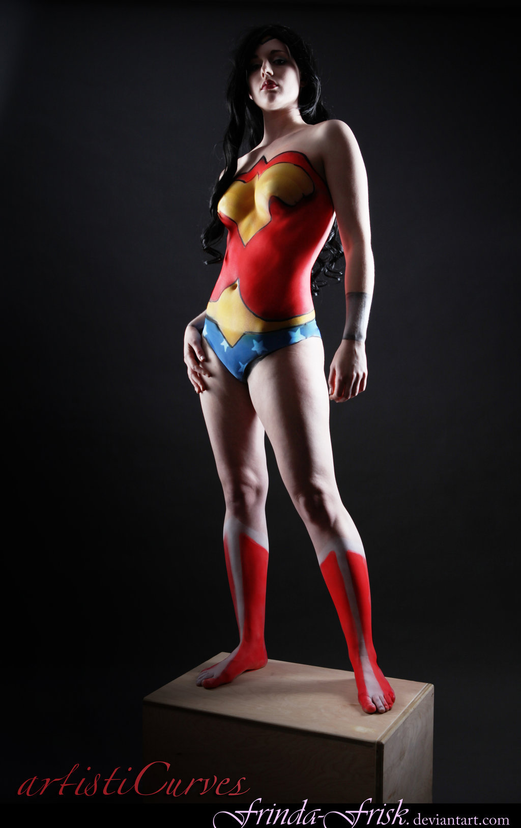 WONDER WOMAN  Cosplayer: Frinda Frisk * Photographer: Jim McAvoy