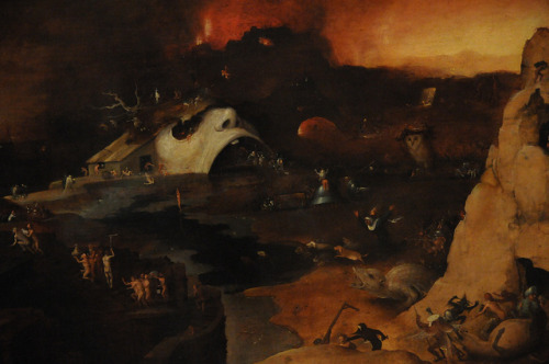 "tierradentro:  ""Christ's Descent into Hell"", Hieronymus Bosch. (via)"