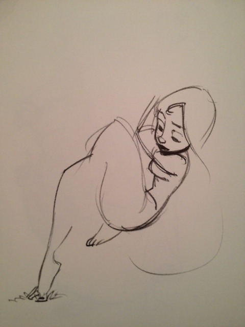 almostconceptartist:  scurviesdisneyblog:  Rapunzel By Glen Keane  I'm done